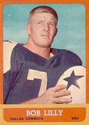 Bob Lilly nel suo anno da rookie