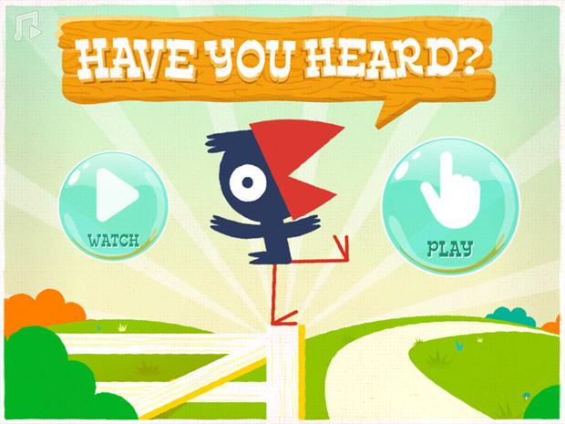 englische Kinderbuch App über Gerüchte