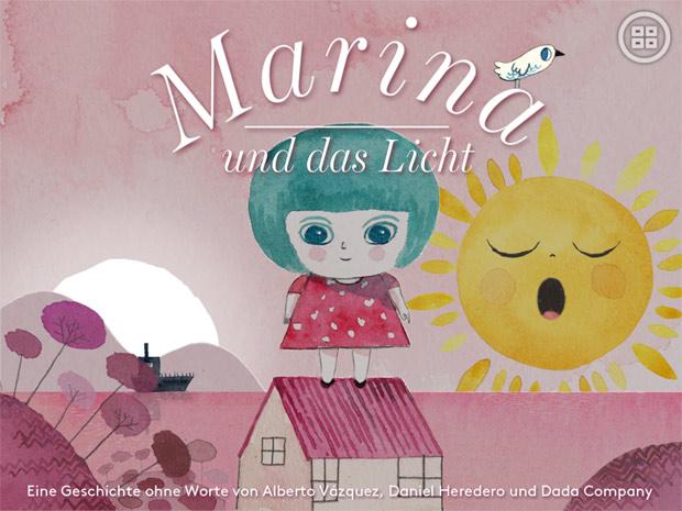 romantische Bilderbuch App für Kinder