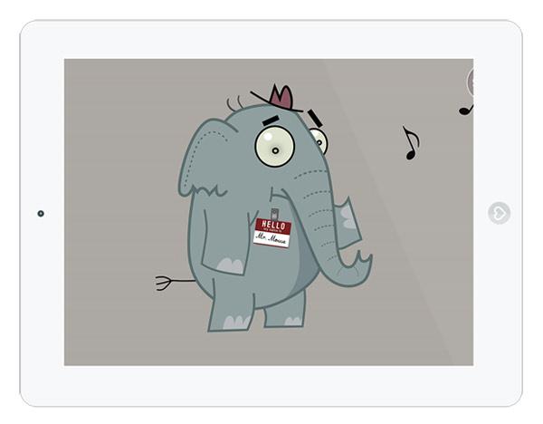 lustige Kinderbuch App über Identität