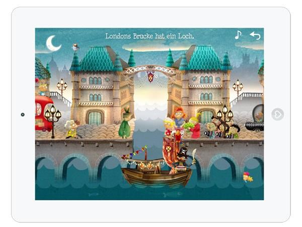 Kinder-App Kleiner Fuchs Kinderlieder zum Mitsingen – Londons Brücke