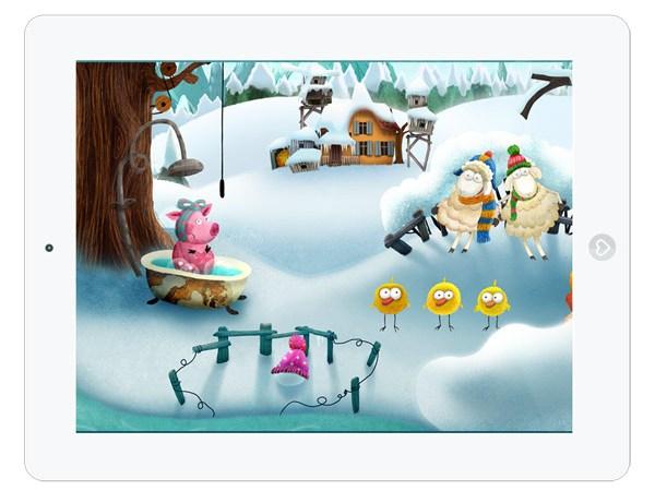 Kinder-App Kleiner Fuchs Kinderlieder zum Mitsingen – Winter