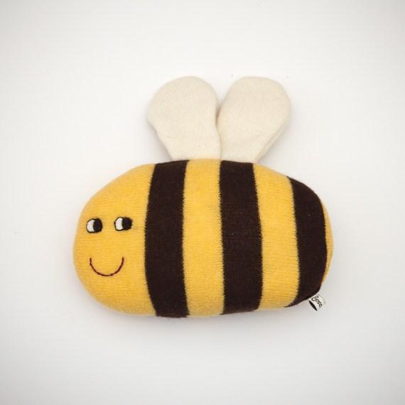 Handgemachte Stoff Biene von Saracarr