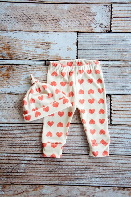Baby Herzchen Leggings von hold you me