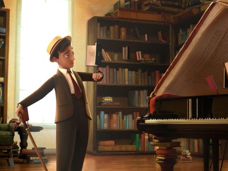 interaktiver Kurzfilm Kinder App Morris Lessmore