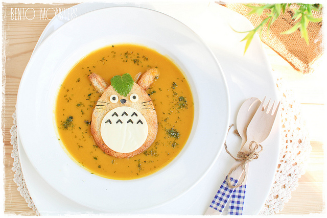 Bento Monsters Totoro Suppe