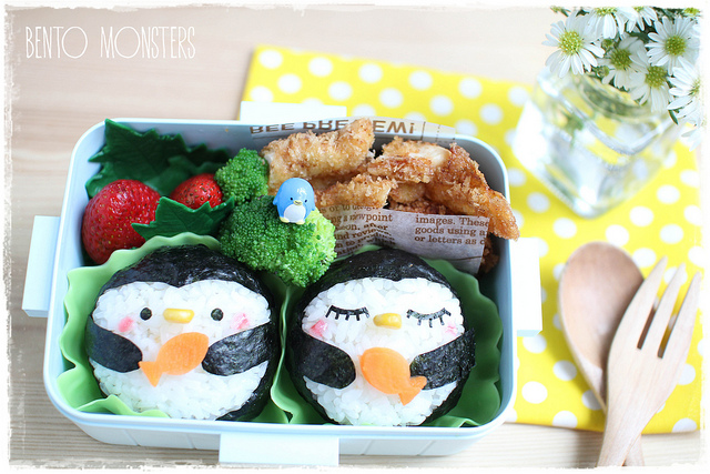 Bento Box Pinguine