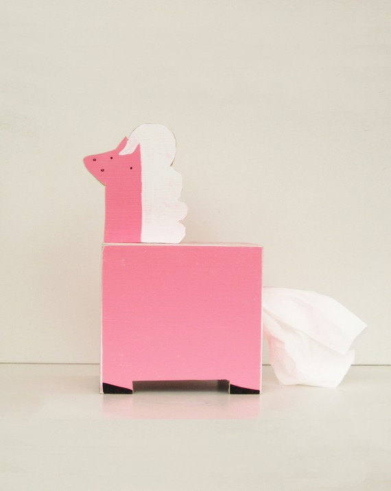 Tempo Box Pferd zum Nase Putzen