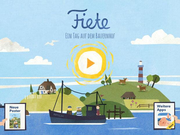 Fiete Bauernhof Kinder Spiele App