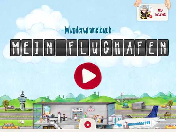 Mein Flughafen WImmelbuch App für Kinder