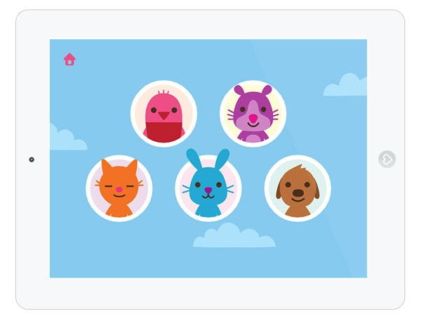 Mini Game App für Kleinkinder