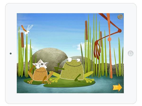 Kinder Minispiel App mit Tiere Füttern