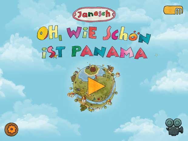 Kinderbuch App Oh wie schön ist Panama von Janosch