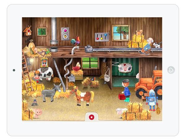 Wimmelbuch App über das Landleben