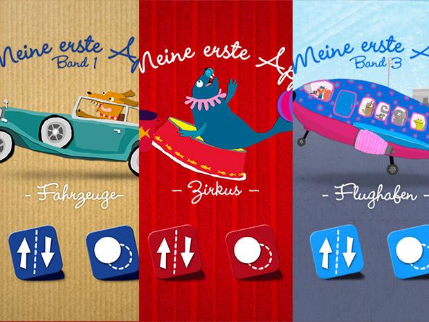 Meine 1. App Sammlung: drei Minispiele im Bundle