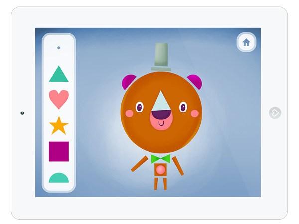 Formen und Farben Erkennung lernen mit iPad App