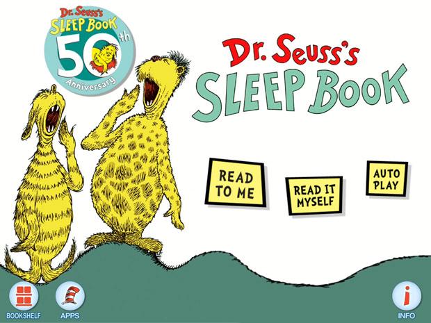 Kinderbuch App über's Schlafen