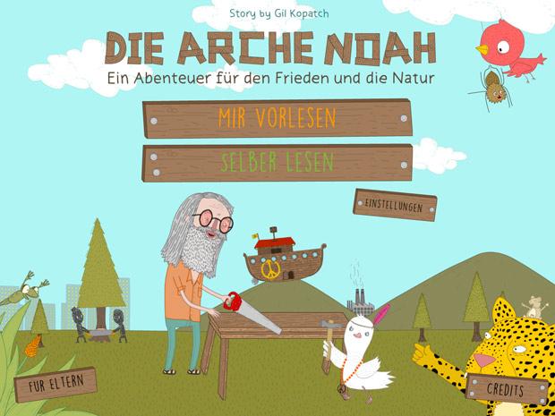 toll illustrierte Kinderbuch App über biblische Sage