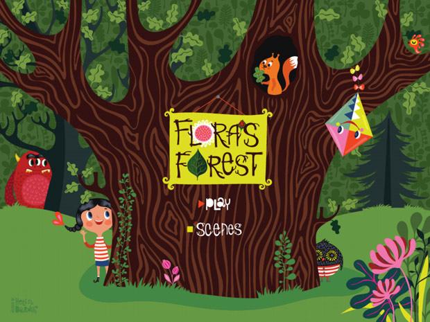 englischsprachige Kinderbuch App gratis über Freundschaft