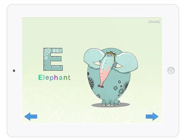Englische Gratis App um Buchstaben zu lernen
