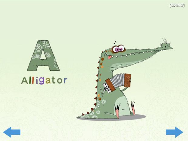 Englische Gratis lern App mit Buchstaben