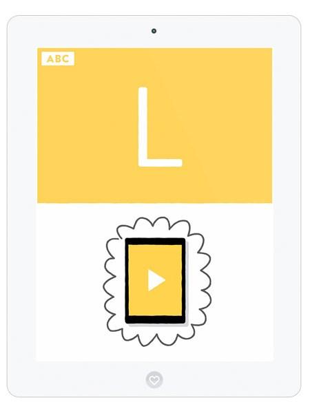 Kinder App für Kreative Kleinkinder zum analog Mitmalen
