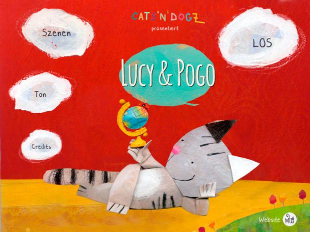 Hübsche Kinderbuch App über eine Katze die ein Hund sein möchte