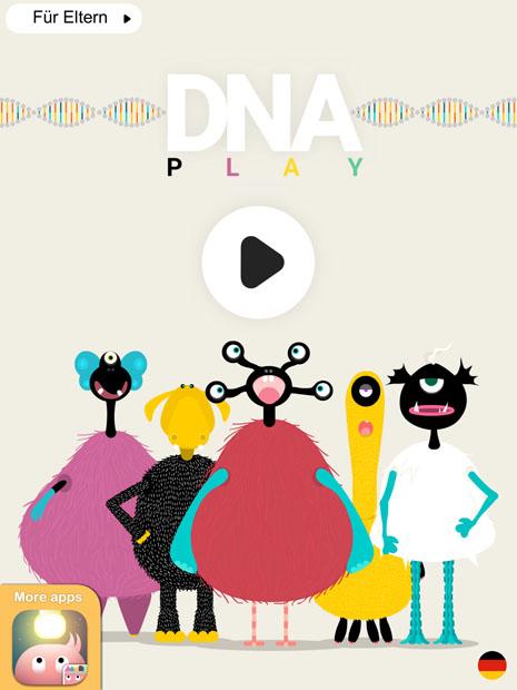 Kinder Spiele App zum Fantasie Figur erstellen