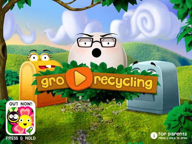 Kleinkinder lernen Mülltrennung mit dieser App