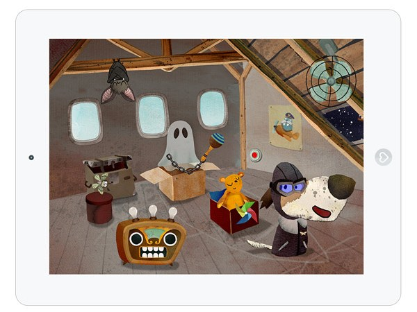 kreative Musik Bilderbuch App für Kinder