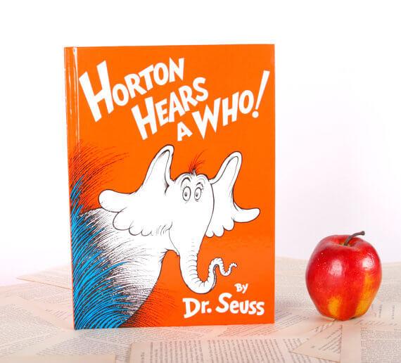 iPad Hüllen aus alten Büchern – Dr. Seuss Horton
