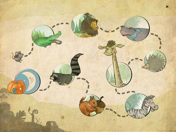 kostenlose Kinderbuch App über Freundschaft und Abenteuer