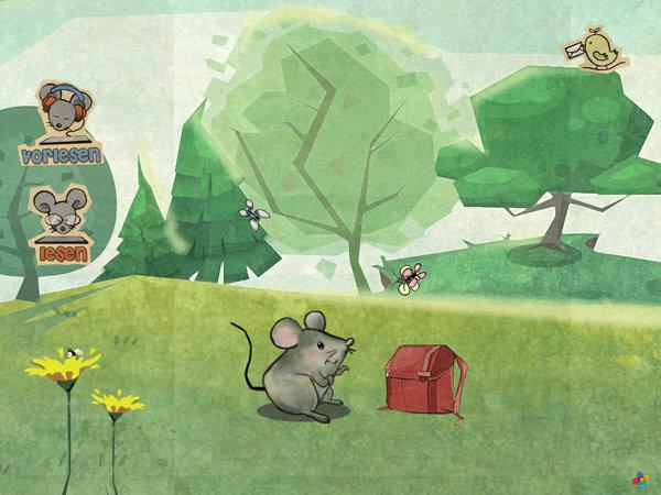Kinderbuch App über Freundschaft und Abenteuer