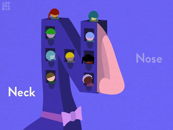 ABC Lern App mit einzigartiger Grafik
