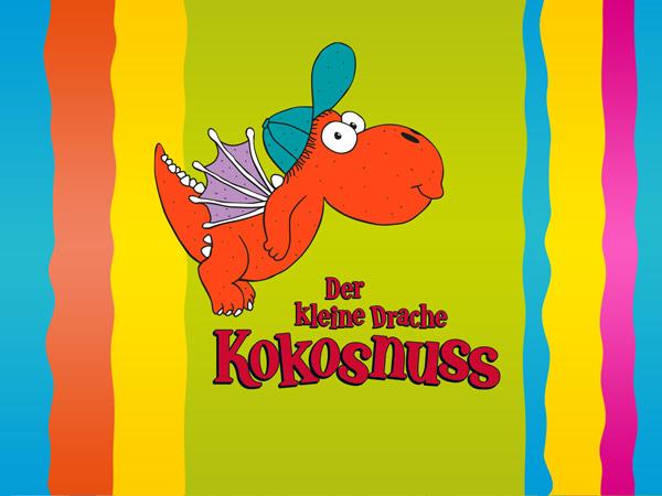Kleiner Drache Kokosnuss Lernspaß: Lehrreiche Minispiele für Schul-Kinder
