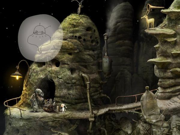 Geniale Point and Adventure Game App für ältere Kinder zum Rätseln