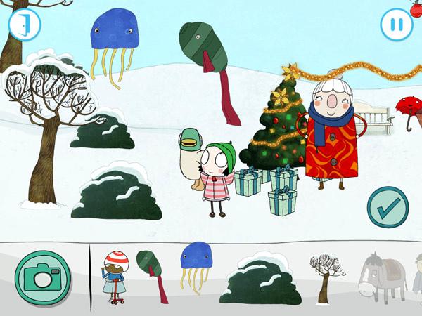 Schöne Kinderapp mit Minispielen
