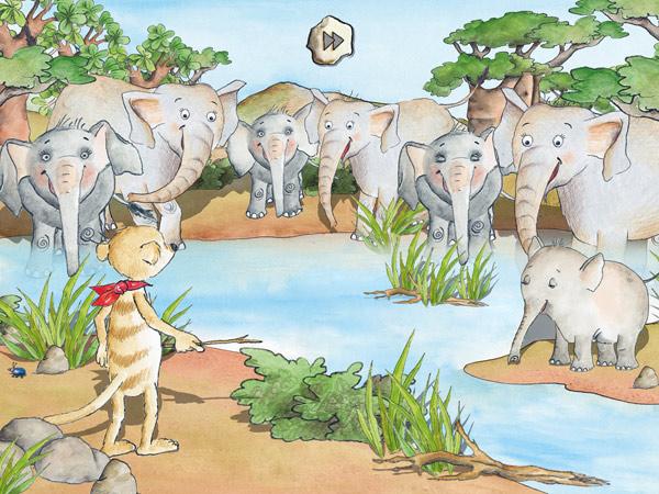 Tafitis Savannenparty: schöne Lernspiele für Kinder
