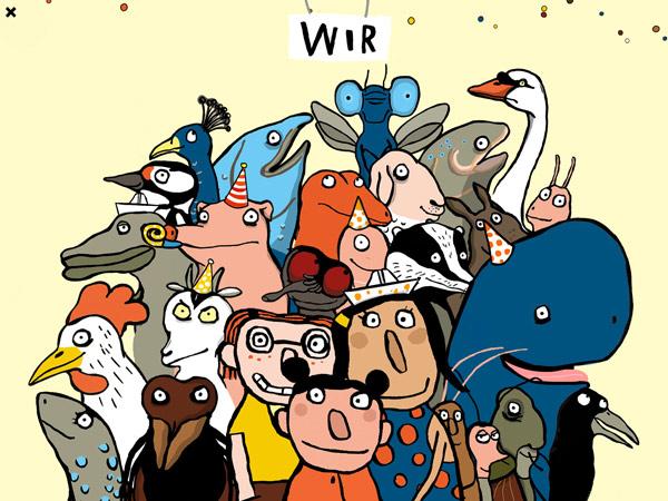 Schöne Bilderbuch Kinderapp zum Reimen