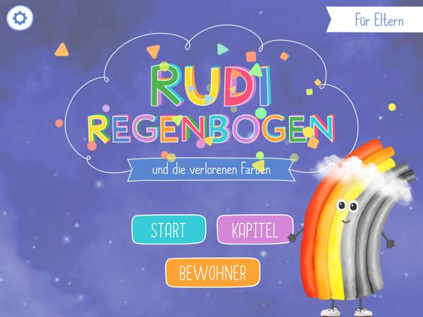Interaktive Kinderbuch-App Rudi Regenbogen