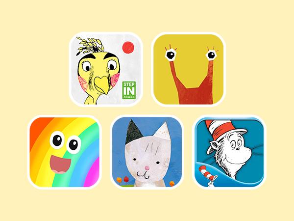 Die besten Kinderbücher für iPhone iPad oder Android Geräte