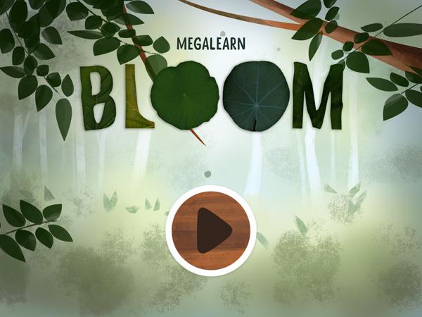 Bloom: eine wunderschöne Biologie Lern App mit Bilderbuch Charakter