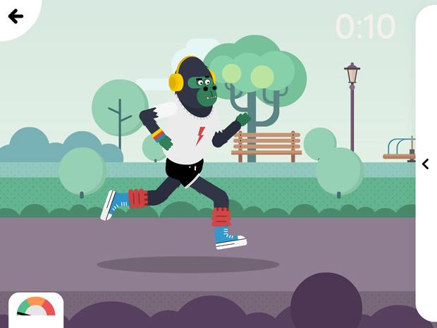 Fitoons: mit dieser tollen App lernen Kinder spielerisch etwas über Fitness und Ernährung