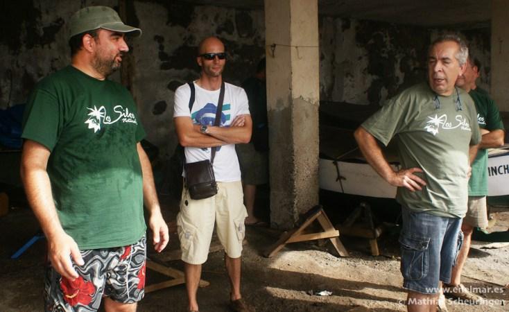 Ramón, Marcos y Sacha