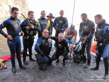 Alfredo, Sacha, Mundi, Pana, Joni, Javier e Isra en Masca - IMG_4065