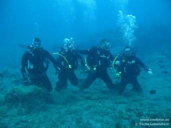 Joni, Juan y Adrian en Teno - IMG_5051