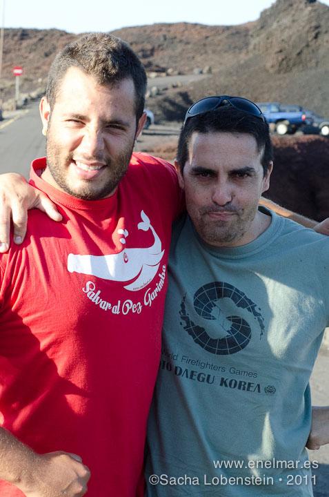 20111012 0947 - Adrián, Javier, Juan, Mundi, Teno
