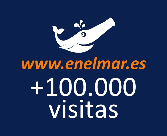 www.enelmar.es supera las 100.000 visitas!!!!!!!