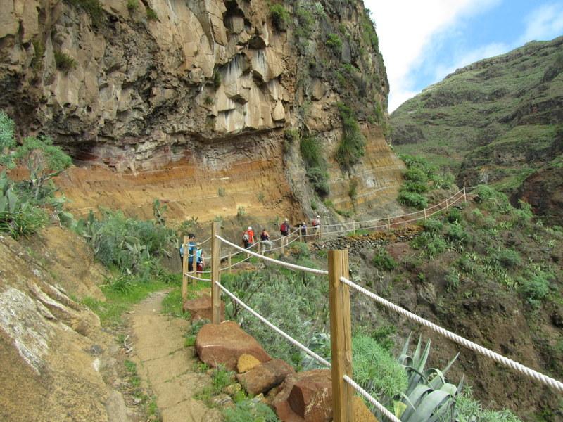 Vandringsled på La Gomera