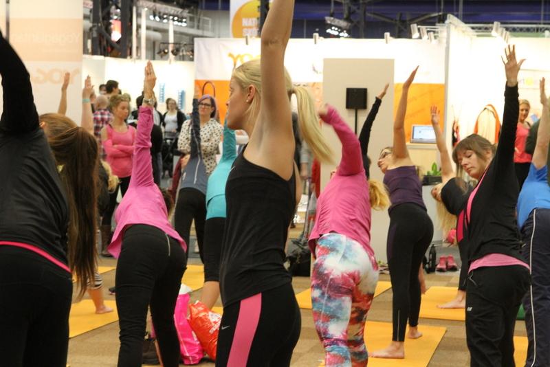 Yoga på allt för hälsan 2013